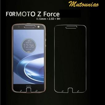 2pcs/lot For Motorola Moto Z Force 9H Premium Tempered Glass Screen Protector film -