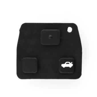 3 Tombol Car Auto Remote Kunci Fob Pad Pengganti-Internasional