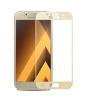 3D Full Cover Tempered Glass Warna Screen Protector for Samsung Galaxy J2 Prime - Gold