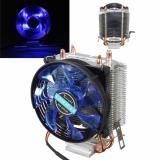 3Pin Tembaga LED Kipas Pendingin CPU Heatsink untuk Prosesor Intel LGA775/1156/1155 AMD AM2/AM2 + - 5