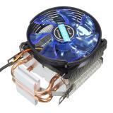 3Pin Tembaga LED Kipas Pendingin CPU Heatsink untuk Prosesor Intel LGA775/1156/1155 AMD AM2/AM2 + - 3