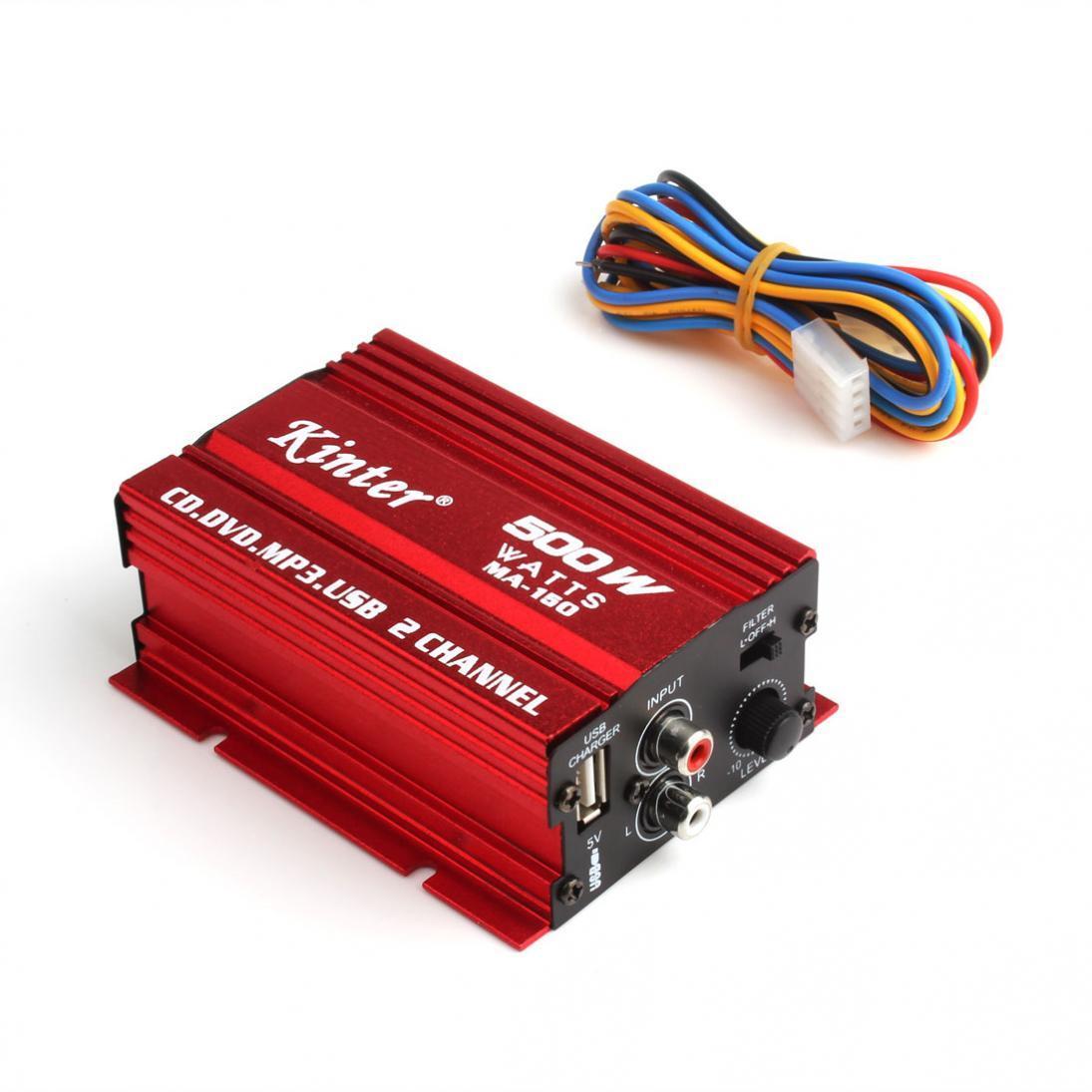 500 watt MA-150 DC 9-15 V 2-CH mini hi-