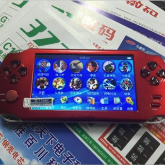 5.1-Inch 8G PSP Game Player 10000 Free Games Handheld GBA Consoles = MP3/MP4/MP5/FM/Camera (Red) - intl