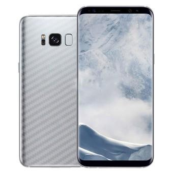5 Pcs Full Cover Carbon Fiber Back Screen Protector Film Wrap Kulit Stiker untuk Samsung Galaxy