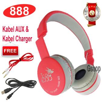888 Bluetooth KSD- 288B Stereo Headphone Support Micro SD ROPS EDRBuil-In Mikrofon MP3 FM Headset