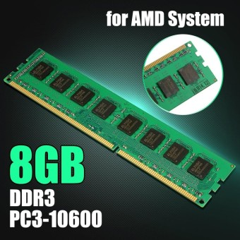 8GB DDR3 PC3-10600 1333MHz Desktop PC DIMM Memory RAM 240 pins For AMD System