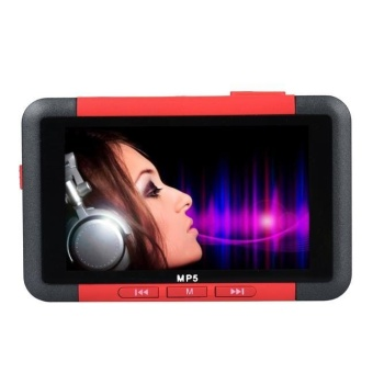 8GB Slim MP3 MP4 MP5 Music Player With 4.3'' LCD Screen FM RadioVideo Movie - intl