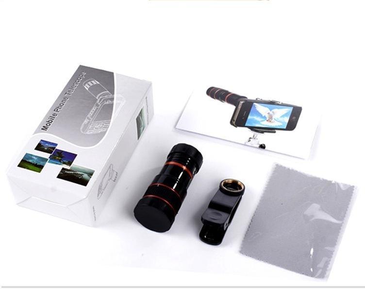 Fitur teleskop lensa untuk iphone android telepon zoom lensa