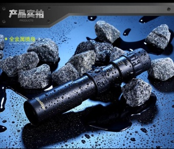 90X Magnification thousand Li metal pocket telescope - intl