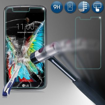 9H Premium Tempered Real Glass Screen Protector Film for LG K10 2017 - intl