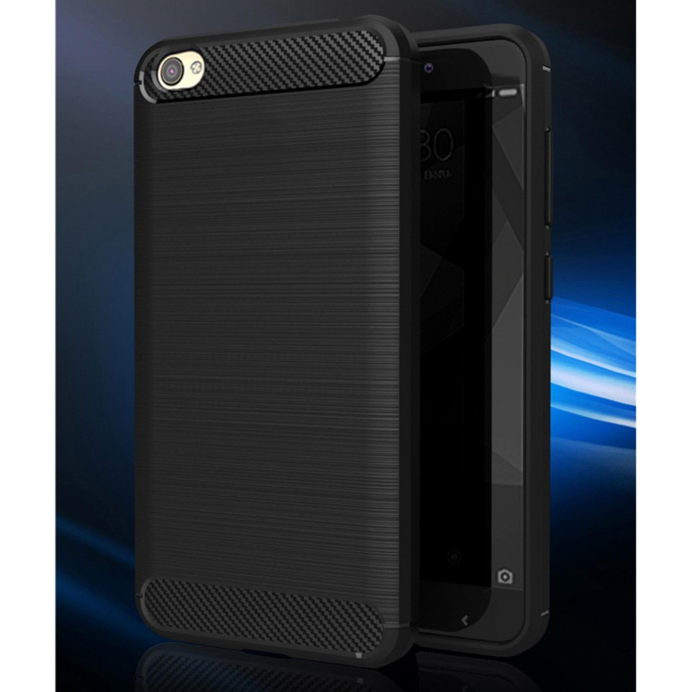 Casing Premium Quality Carbon Shockproof Hybrid Case For Xiaomi Redmi Note 5a Standar Non Fingerprint