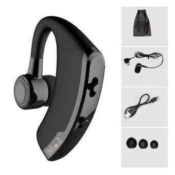 Aibot V9 Handsfree Bisnis Headphone Bluetooth dengan MIC Kontrol Suara Nirkabel Headset Bluetooth untuk Drive Noise