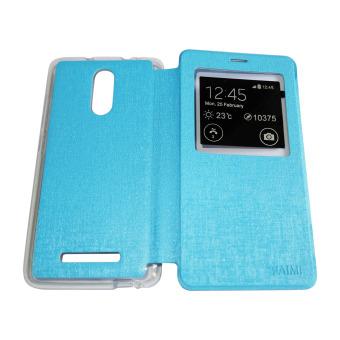 Aimi Xiaomi Redmi Note 3 Flipshell / Flipcover / Sarung Case - Biru Muda?