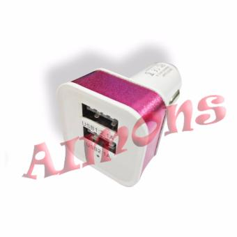 Aimons Phone Charger Mobil with 2 Port, 1.2V and 1A Car Charger