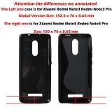 AKABEILA untuk Redmi Note 3 Pro Sline TPU Silicone Back Cover untuk Redmi Note 2 PRO ...