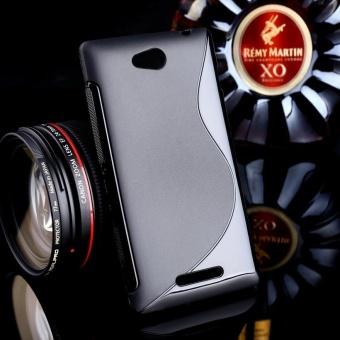 AKABEILA untuk Sony Xperia C Sline TPU Silicone Back Cover untuk SONY S39h C2305 5.0 Inch