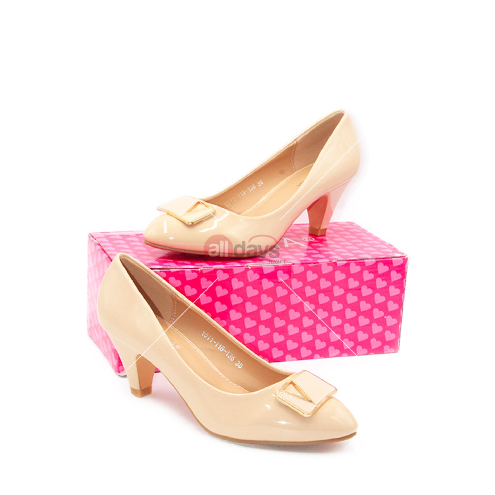 Cek Harga Baru Regina Sepatu Fantofel High Heels Wanita Hak 7 Cm 5 1611 115 168 D Red Alldaysmart 136 Beige Size 36 40