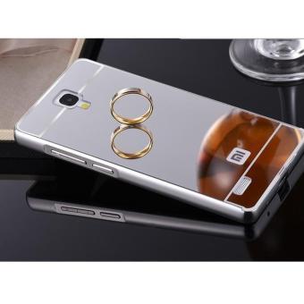ALUMINIUM TEMPERED GLASS HARD CASE CASING COVER HP XIAOMI REDMI NOTE 1