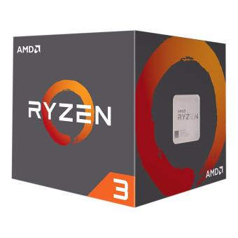 AMD Ryzen 3 1200 - with AMD Wraith Stealth Cooler Included Socket AM4 - Hitam