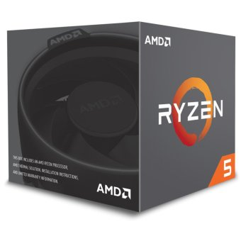 AMD Ryzen 5 1600 3.2Ghz Up To 3.6Ghz Cache 16MB 95W AM4 [Box] - 6Core - With AMD Wraith Spire 95W Cooler