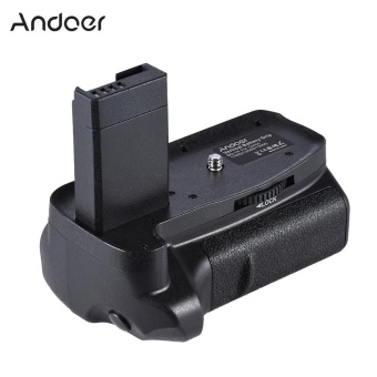 harga Andoer BG-1H Vertical Grip Compatible with 2 * LP-E10 for Canon EOS 1100D 1200D 1300D / Rebel T3 T5 T6 / kiss X50 X70 DSLR Cameras - intl Lazada.co.id