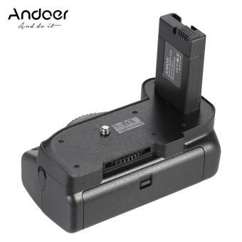 Andoer BG-2G Vertikal Grip Holder For Nikon D5100 D5200 D5300 DSLR Kamera EN-