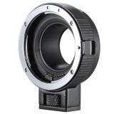 Andoer EF-EOSM Lensa Dudukan Adaptor Dukungan Oto-paparan Otomatis Fokus dan Auto-bukaan untuk Canon EF/ EF-S Seri Lensa untuk EOS M EF-M M2 M3 M10 Tubuh Gambar Kamera Dukungan Stabilitas-Internasional - 3