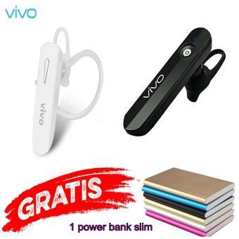 Fitur Handsfree Bluetooth For Vivo 4 1 Random Free Power Bank Slim