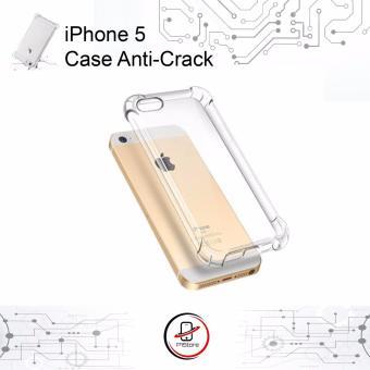 Anti Crack - Anti Shock iPhone 5 / 5S / 5SE TPU Transparan Jelly Case Hard