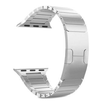 Apple Watch Stainless Steel Gelang Pengganti Tali Watchband Wrist Band Strap untuk Apple Watch Sport &