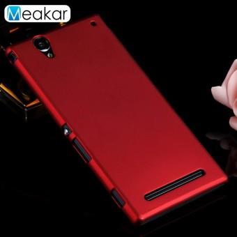 Arenaceous Ponsel Plastik Keras Cover Case untuk SONY Xperia T2-Intl