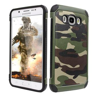 Army Case Loreng For Samsung J5 2015 J500 Shockproof Army Hijau - Free  Tempered Glass d140c2b954