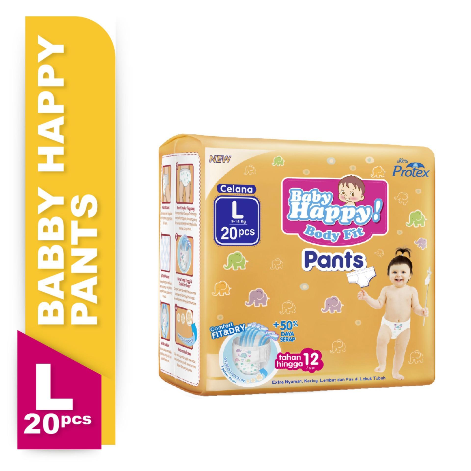 Baby Happy Pants Popok Bayi L-20