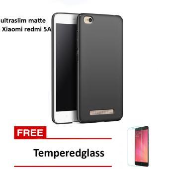Baby Skin Soft Babby Skin Softase Silicon Matte Ultra Slim for Xiaomi Redmi 5A - Black