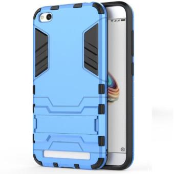 Back Case Xiaomi Redmi 5A Iron Man Kick Stand Transformers Kickstand Series - Biru