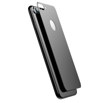 BASEUS 0.33mm Matte 3D Tempered Glass Back Protector for iPhone 8 Plus / 7 Plus