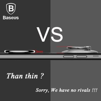 BASEUS Stand 360 Jari Cincin Meja Stand Holder Cocok untuk Magnetik Mobil Bracket Mewah Phone Holder