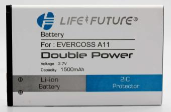Batre / Battery / Baterai LF Evercross A11 Double power + Double2IC