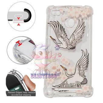 Beauty Case Anti Crack Xiaomi Redmi 3S Case 3D Luxury Animasi Vintage Burung Flamingo Softcase Air
