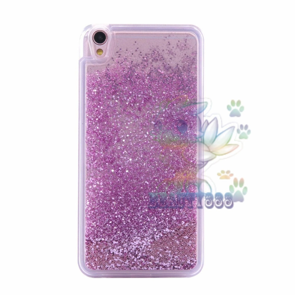 Hot Deals Beauty Case Oppo Neo 9 A37 Softshell Water Glitter Soft Back Case / Sillicone