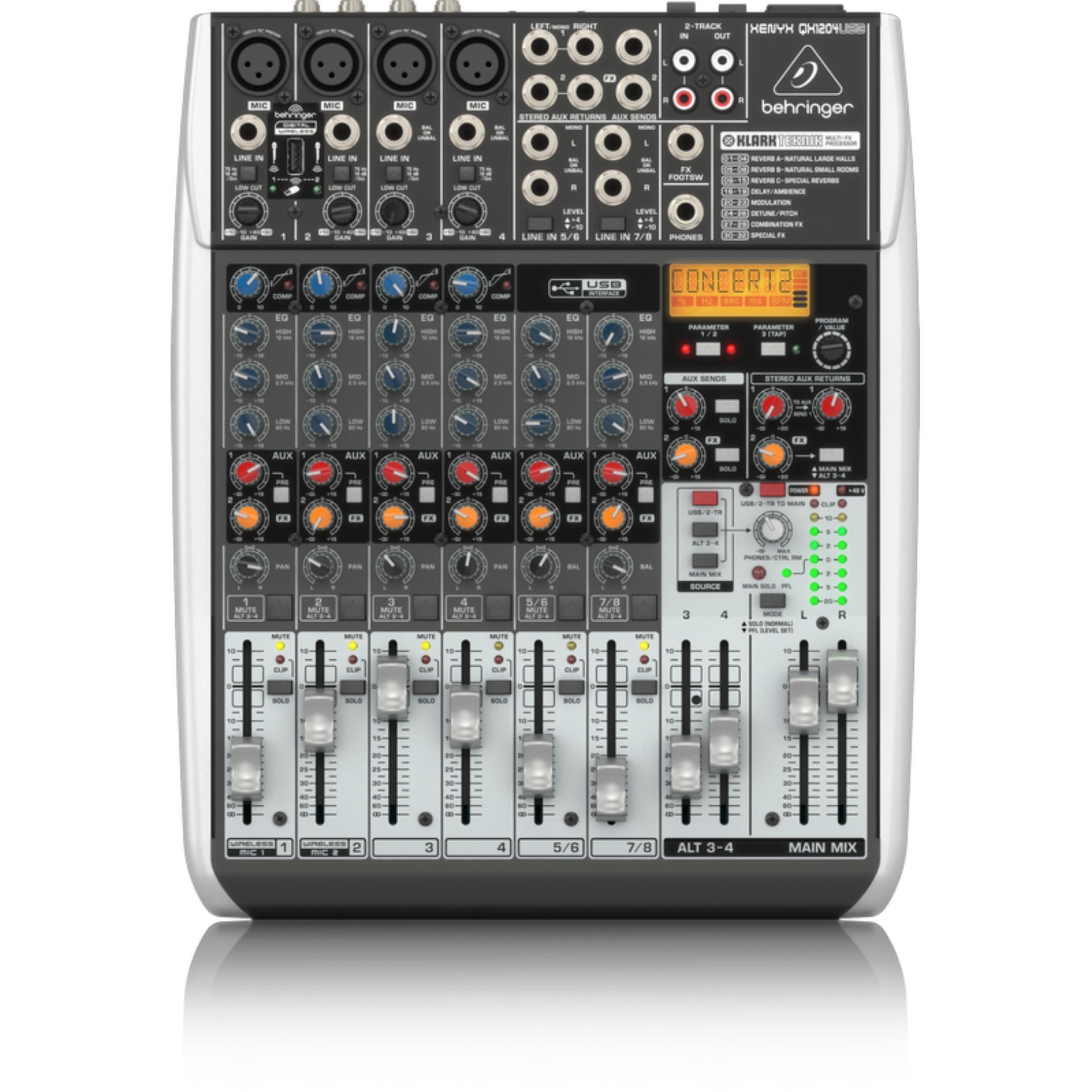 Hot Deals Behringer XENYX QX 1204 USB Mixer 12 Channel terbaik murah Hanya Rp3