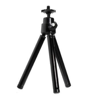 1TOP OEM Tripod Mini Camera Holder Phone Holder Gopro Holder dll TANPA HOLDER - Black
