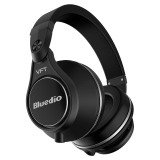 Bluedio Bluetooth Wireless Plus UFO itu di-ear headphone dengan mikrofon ( hitam) ...