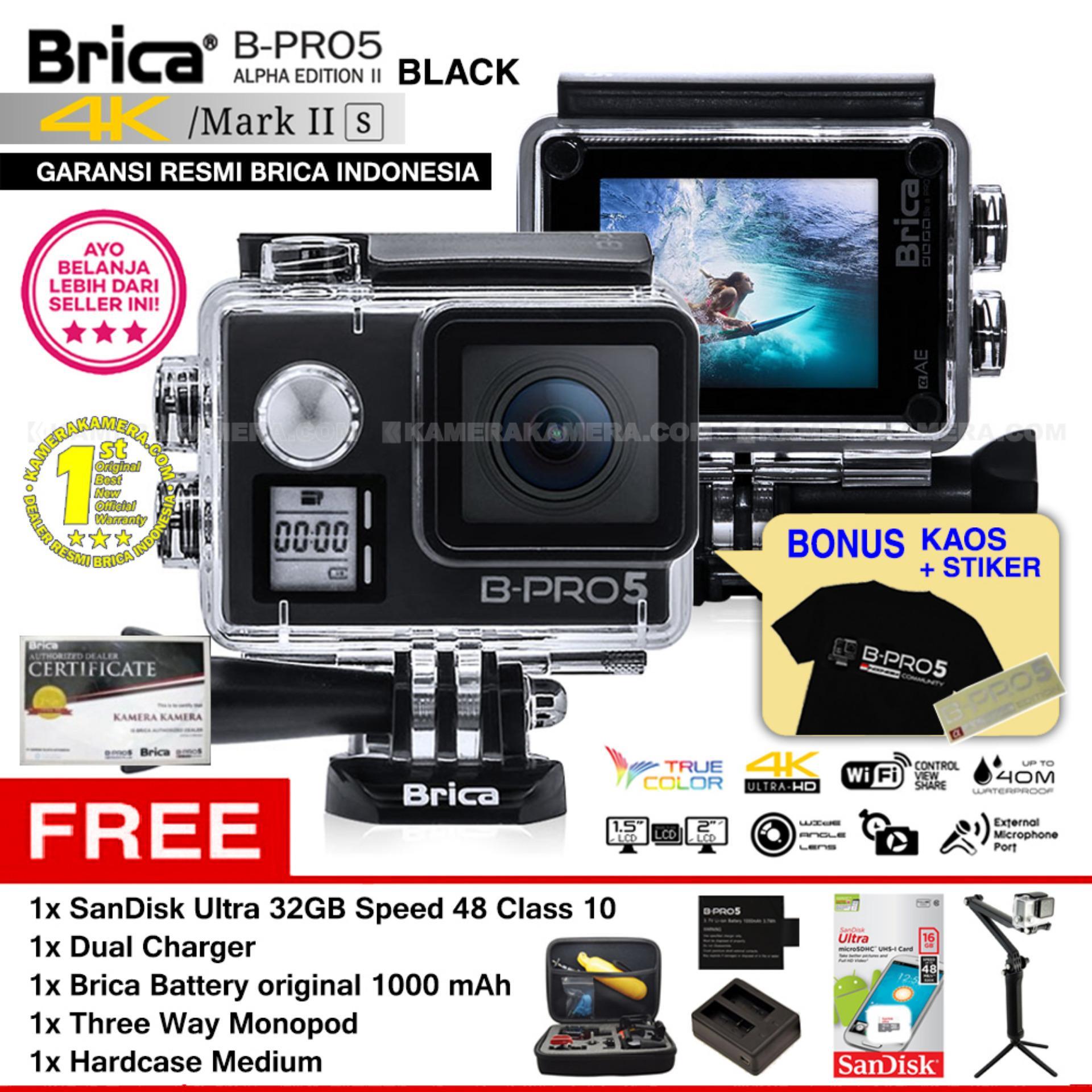 BRICA B-PRO 5 Alpha Edition Mark IIs (AE2s) WIFI 4K BLACK +