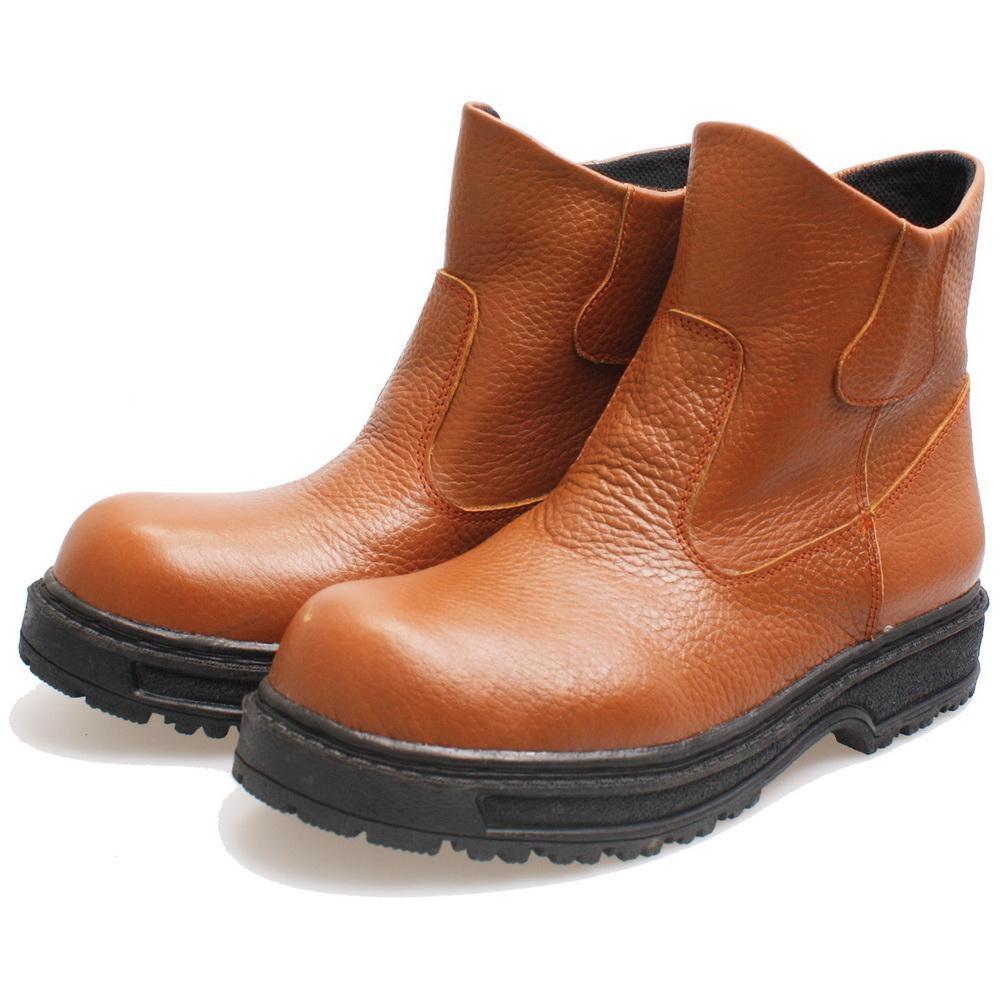 Kelebihan Bsm Soga 305 Sepatu Safety Boots Pria Kulit Asli Gagah 275 Formal Kerja Elegan Hitam Bru 317 Bahan Dan Keren