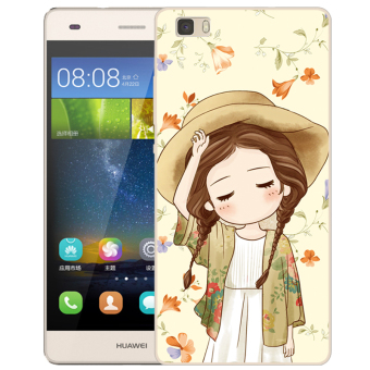 BUILDPHONE TPU Soft Phone Case for HUAWEI Ascend P8 Lite for 5.0 inch ( Multicolor)