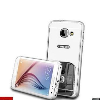 Bumper Mirror Sliding Case Samsung Galaxy A3 2017/A310 - Silver