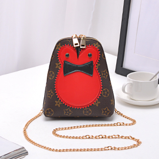 Love Meng Tas Kecil Korea Fashion Style Baru Burung Hantu Gadis Tas HP