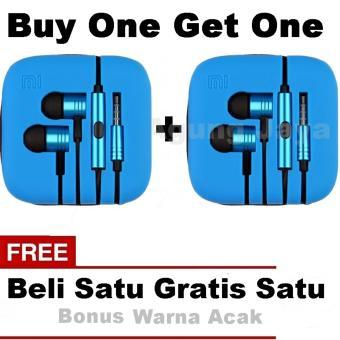 Buy One Get One MAJ Piston 2 Earphone Big Bass Piston Mi 2nd Generation Handsfree .