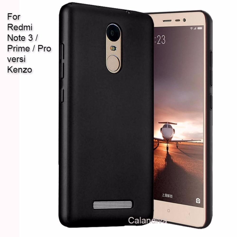 Calandiva 360 Degree Protection Slim Hardcase For Xiaomi Redmi Luxury Tempered Glass Premium Case Note 5 Hitam Hot Deals Quality Grade A